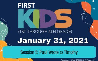 Elementary   January 31, 2021