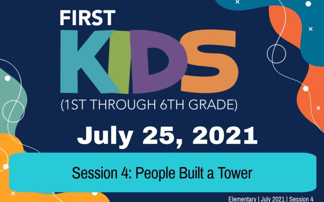 Elementary | July 25, 2021