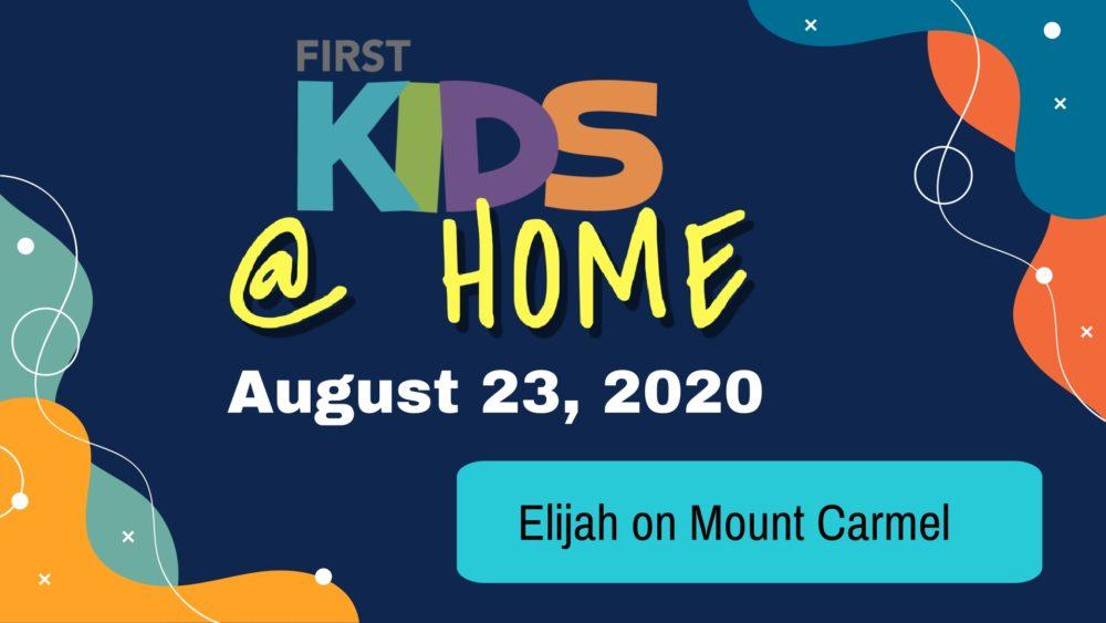 Elijah on Mount Carmel  Image