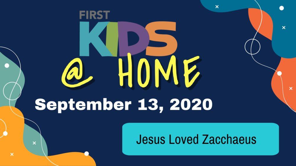 Jesus Loved Zacchaeus Image